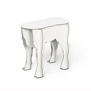 Tabouret / table d'appoint Scotty