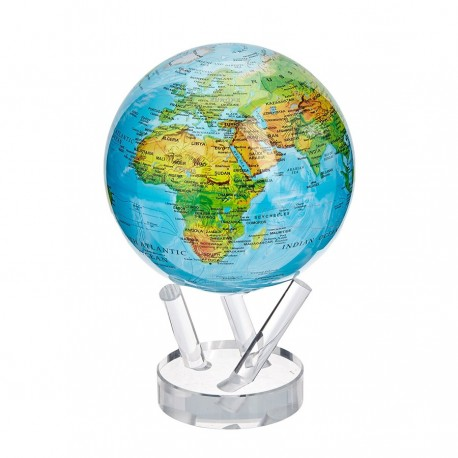 Globe Anime Carte Relief Inget Pris Fares Vid The