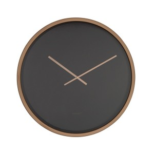 horloge bandit black copper zuiver int rieur et objets. Black Bedroom Furniture Sets. Home Design Ideas