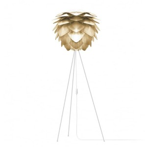 Lampadaire Silvia brushed brass 50cm