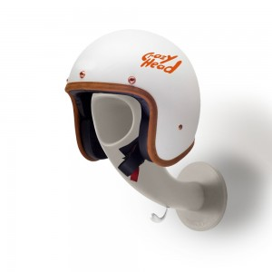 Crazy head - Porte casque moto