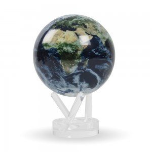 Mova globe Earth with clouds - Intérieur et Objets